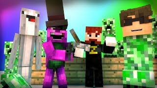 Download Minecraft Mini-Game : DO NOT LAUGH! (CRAPPING CREEPER AND THE OVERWORKED BEAVER!) w/ Facecam Video