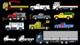 Download Trucks 2 - Sports, Winter & Street Vehicles - The Kids' Picture Show (Fun & Educational) Video