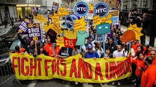 Download Minimum Wage Protests Break Out In 270 Cities Video
