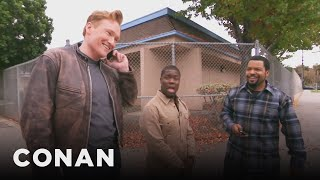 Download Ice Cube, Kevin Hart, And Conan Share A Lyft Car Video