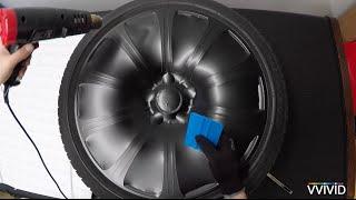 Download VVIVID Vinyl - How To Vinyl Wrap Car Rims Video