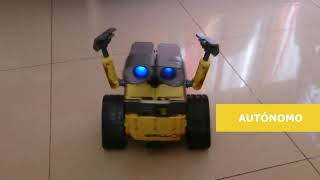 Download WALL-E Robot Arduino (diymakers.es) Video