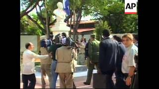 Download DOMINICAN REPUBLIC: CUBAN LEADER FIDEL CASTRO VISIT Video