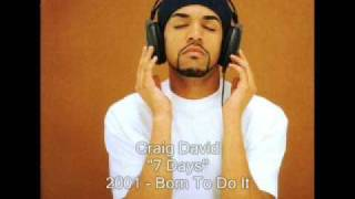 Download Craig David - 7 Days Video