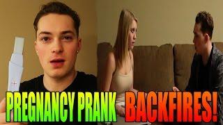 Download PREGNANCY PRANK BACKFIRES Video