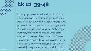 Download #Ewangelia   24 października 2018   (Łk 12, 39-48) Video