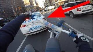 Download SUICIDE SWERVING NYPD POLICE CARS Video