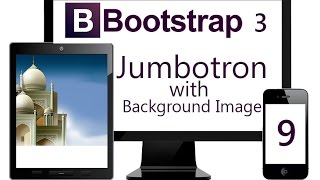 Download Using Bootstrap Jumbotron with Fixed Background Image Video