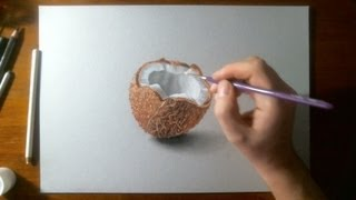 Download Amazing Drawing 3D - Coconut Video