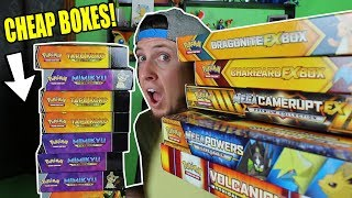 Download CHEAPEST POKEMON CARD BOXES OPENING EVER! GAMESTOP FOR THE WIN! Video