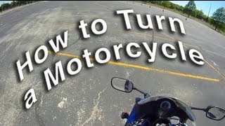 Download How to Turn a Motorcycle - Counterweight vs Countersteering Video