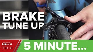 Download 5 Minute Rim Brake Tune-Up | Cable Tension, Ferrules & Toeing In Brake Pads Video