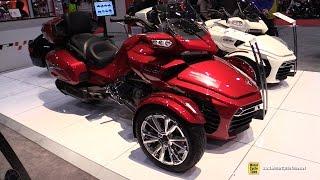 Download 2017 Can Am Spyder F3 Limited - Walkaround - 2017 Toronto Motorcycle Show Video