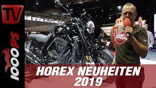 Download Horex VR6 - Neu für 2019 auf der INTERMOT - RAW! Video