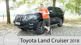 Download 2018 Toyota Land Cruiser Executive Fahrbericht / Das Urgestein seit 1951 - Autophorie Video