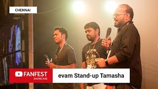 Download evam Stand-up Tamasha @ YouTube FanFest Showcase Chennai 2018 Video