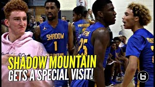 Download Shadow Mountain Got a Visit By Nico Mannion & #1 QB so You KNOW They Had to SHOW OUT!! Video