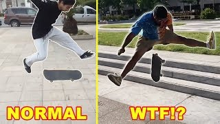 Download Most Exaggerated Skateboard Tricks Video