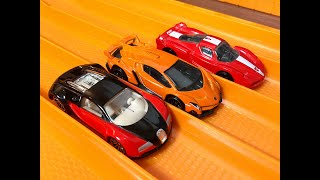 Download Bugatti Veyron vs Ferrari FXX vs Lamborghini Veneno - RACE/TOP SPEED TEST Video