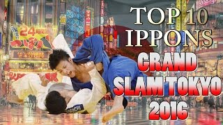 Download TOP 10 IPPONS | Grand Slam Tokyo 2016 | 柔道 Video
