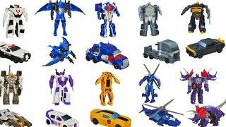 Download TRANSFORMERS ONE STEP CHANGERS TOYS OPTIMUS PRIME BUMBLEBEE GRIMLOCK AUTOBOT DRIFT COLLECTION Video