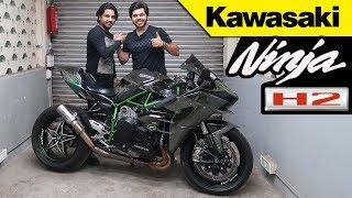 Download #kawasaki#h2#h2r Living with it Ep. No. 15   KAWASAKI NINJA H2 !!!   Diwali Dhamaka !! Video
