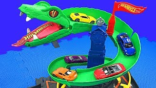 Download Hot Wheels Cobra Crush Play Set Teaching Colors & Numbers for Kids Toys Cars for Children & Toddlers Video