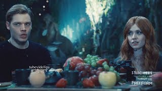 Download Shadowhunters 2x14 Jace Clary Dinner Scene Seelie Queen Wants to Talk with Simon Season 2 Episode 14 Video