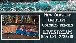 Download New Derwent Lightfast Colored Pencils first impressions Livestream Video