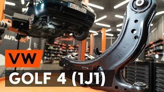 Download Så byter du främre länkarm / främre bärarm på VW GOLF 4 (1J1) [AUTODOC-LEKTION] Video