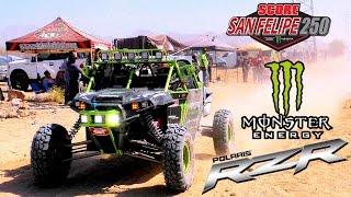 Download Monster Energy Polaris RZR UTV CHAMPS!!!! Marc Burnett Wins The 2016 SCORE San Felipe 250! Video