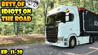 Download ★ BEST OF Idiots on the road - ETS2MP - Ep. 11-20   Tony 747 - Best moments Video
