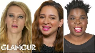 Download The Women of SNL Reveal Who Makes Them Break Character - Glamour Video