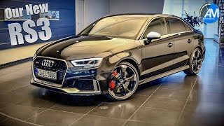 Download Our BLACK RS3 Sedan - Ingolstadt Collection Day!🤩 Video