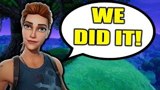 Download HELPING *LITTLE KID WIN* ON FORTNITE!!! (Fortnite Battle Royale Random Duos Gameplay) Video