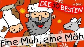 Download Eine Muh, eine Mäh - Weihnachtslieder zum Mitsingen    Kinderlieder Video