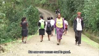 Download Coffee farmers in Letefoho on the benefits of the improved access Video