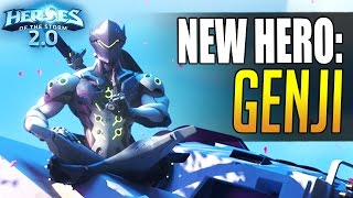 Download GENJI - newest Overwatch hero coming to Heroes of the Storm!! Video