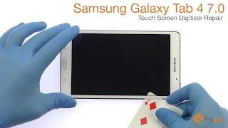 Download Samsung Galaxy Tab 4 7.0 Touch Screen Digitizer Repair - Fixez Video