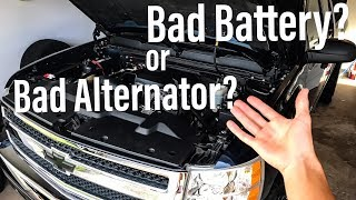 Download Car Won't Start: Alternator or Battery? The easy way to know Video