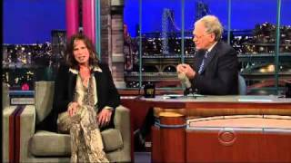 Download Steven Tyler on the Late Show with David Letterman Video