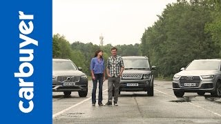 Download Audi Q7 vs Volvo XC90 vs Land Rover Discovery - Carbuyer Video