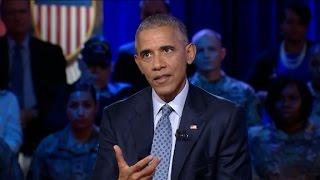 Download Obama discusses Kaepernick's anthem protest Video