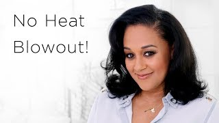 Download Tia Mowry's Heatless Blowout | Quick Fix Video