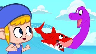 Download Morphle meets a Giant Seamonster! My Magic Pet Morphle episodes for kids (Shark, Dolphin, Submarine) Video