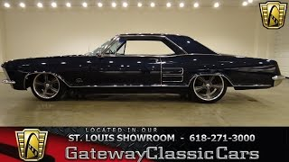Download 1964 Buick Riviera for sale at gateway classic cars stock #6377 Video