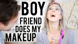 Download BOY FRIEND DOES MY MAKEUP ♡ Video