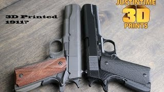 Download 3D Printing: 1911 Pistol Time Lapse Video