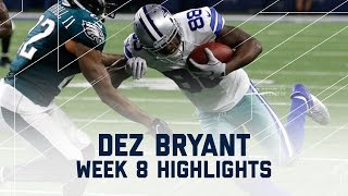 Download Dez Bryant Snags 113 Yards & 1 TD! | Eagles vs. Cowboys | NFL Week 8 Player Highlights Video