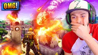 Download TILTED TOWERS will be *DESTROYED* by a METEOR in Fortnite: Battle Royale! Video